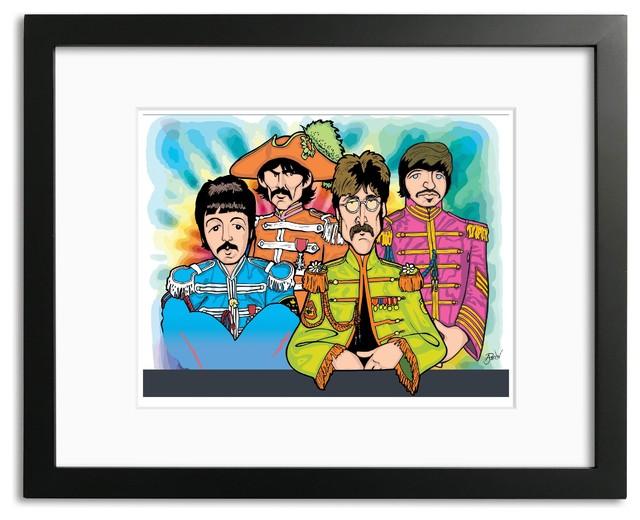 "The Beatles Sgt Pepper/'s Photo Print 11x14/"""