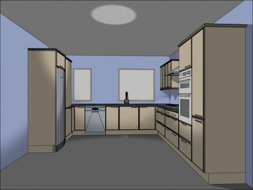 Where To Put Recessed Lighting - Add recessed lighting kitchen