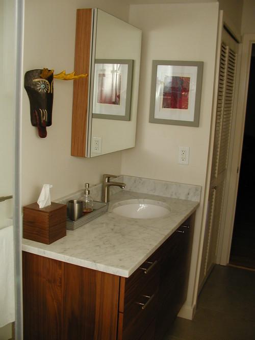 Bathroom Light Not Centered Over Sink do offset sinks make you crazy?