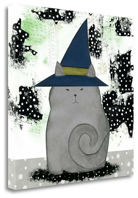 Witch cat by sarah ogren outdoor holiday decorations for Cat outdoor christmas decorations