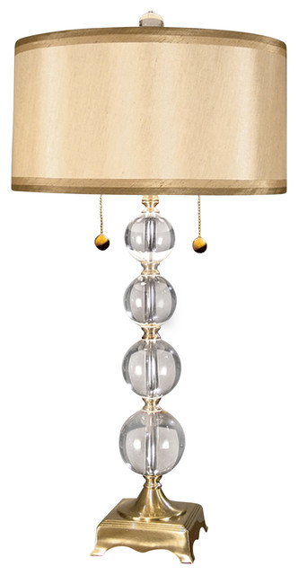 Dale Tiffany Crystal Table Lamp: Aurora Crystal Lamp transitional-table-lamps,Lighting