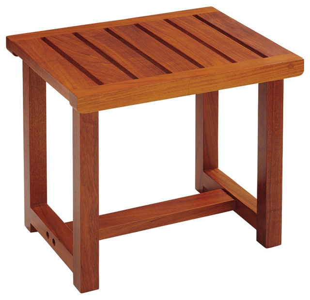 Shop Houzz Conair Solid Teak Spa Bench Shower Benches