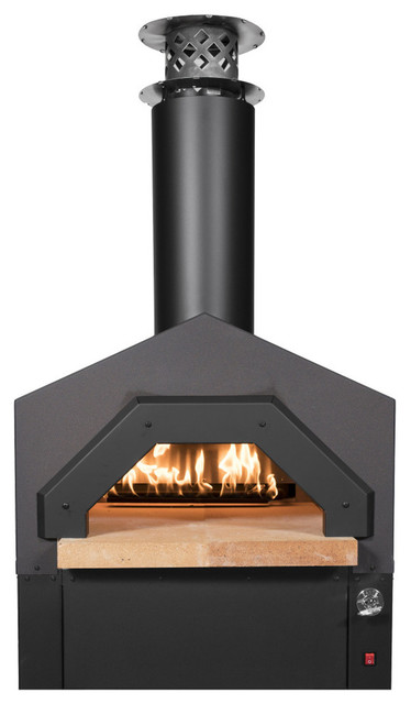 Americano Hybrid Countertop Gas Pizza Oven Transitional Outdoor Ovens By Chicago Brick