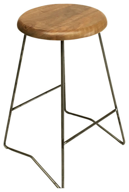 modern counter stools toronto brown leather nelson stool natural walnut set transitional bar discount