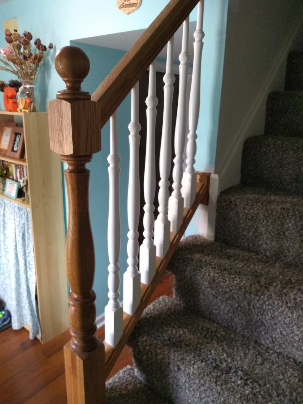 Small Removable Stair Railing