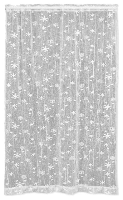 Wind Chill Panel Scandinavian Curtains By Heritage Lace