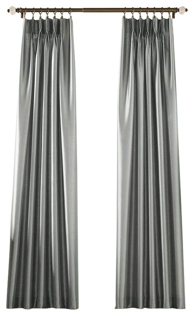 Marquee Pinch Pleat Curtain Panel Contemporary