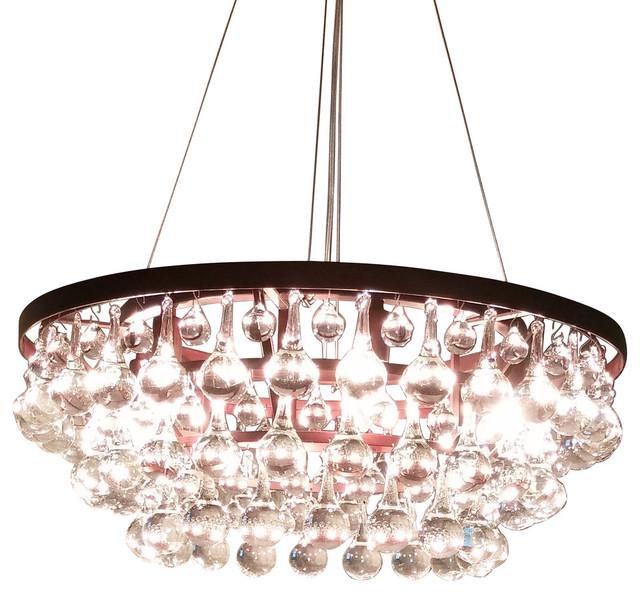 Tear Drop Chandelier 3Tier Clear Murano Glass Teardrop Chandelier  Contemporary .