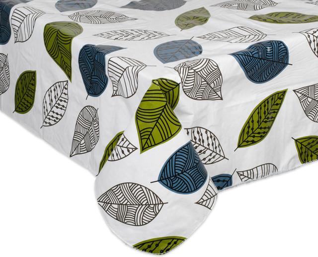Leaves Vinyl Tablecloth 52x70