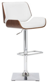 Adjustable Bar Stool, Snow