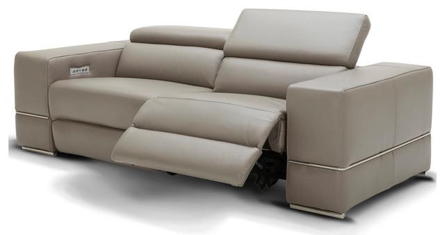 Modern Luxor Reclining Sofa With