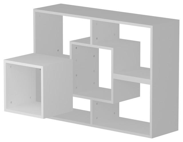 """Cubes Accent 30"""" Bookcase."""