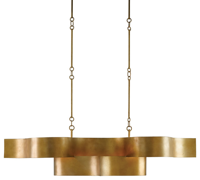 Grand Lotus Oval Chandelier