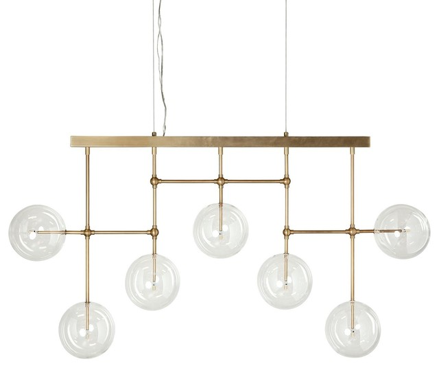 Cary Chandelier, Gold
