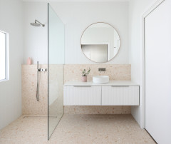 Renovation Education: An Ensuite Made Beautiful With Terrazzo