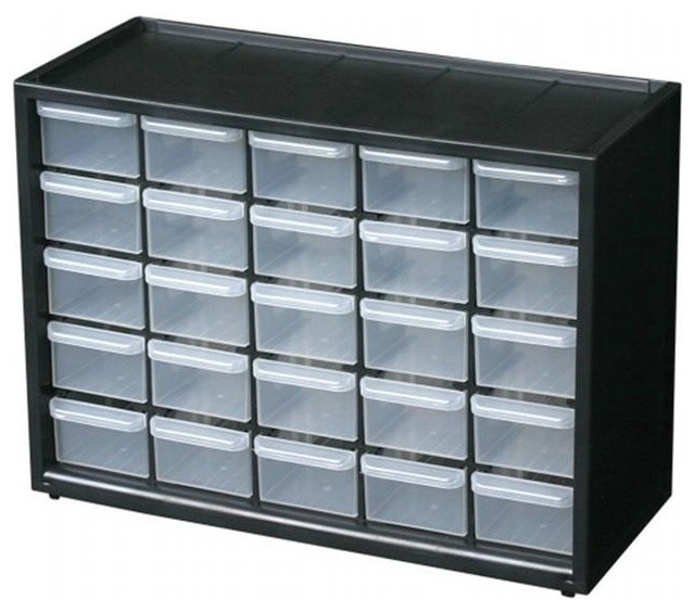 Flambeau 25 Drawers Utility Box 6576NA - Contemporary - Garage And Tool Storage - by ...