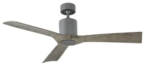 """Modern Forms Aviator 54"""" Indoor Ceiling Fan, Graphite."""