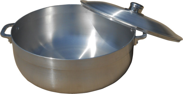 13 Qt. Aluminum Caldera Pot With Lid