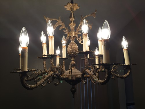 How do i clean a 1920s brass chandelier mozeypictures Images