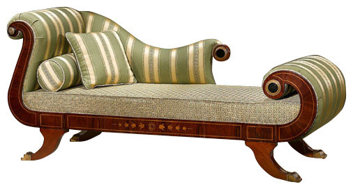 Whimsical Chaise Lounge, Green.