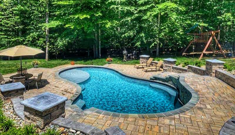 Swimming Pool Landscape Designs