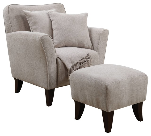 cozy accent chair cozy accent chair with ottoman pillows and throw 13555 | armchairs and accent chairs