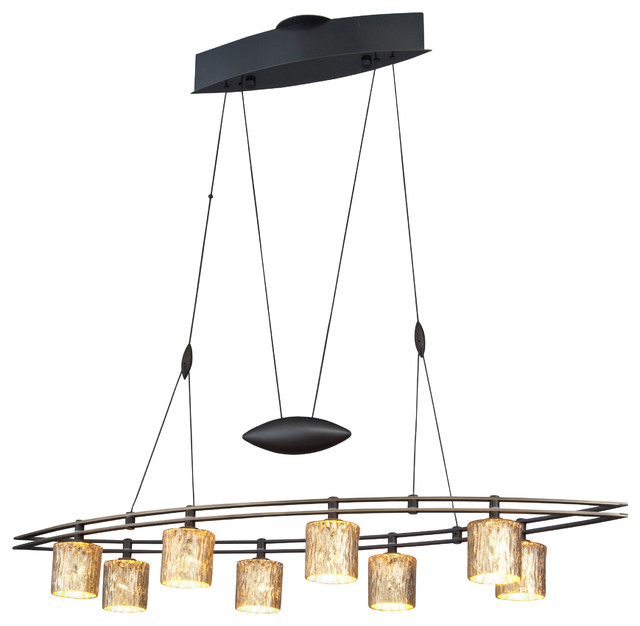 Low Voltage Outdoor Chandelier: Halogen Low-Voltage Contemporary Chandelier