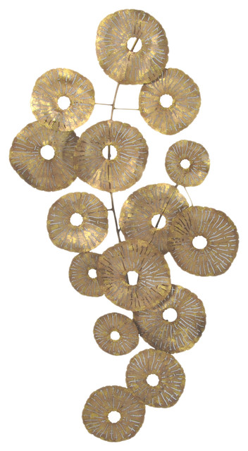 New Contemporary Metal Wall Art by Moe us Home Collection