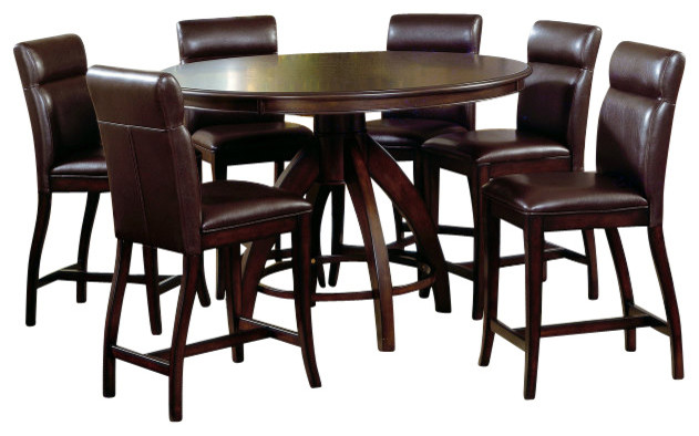 Nottingham 5 Piece Counter Height Dining Set  : transitional dining sets from www.houzz.com size 631 x 394 jpeg 63kB
