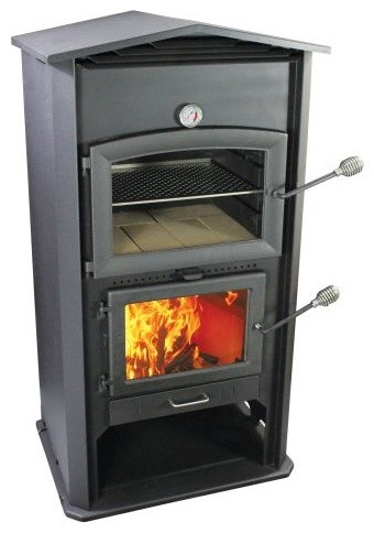 Homcomfort Indoor, Outdoor Wood Oven - Modern - Outdoor Pizza ...