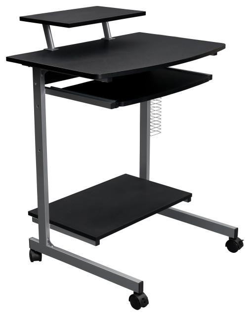 Techni Mobili Compact Computer Desk, Compact Computer Desk