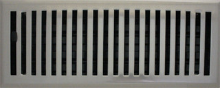 Brushed Nickel Contemporary Plated Steel Floor Register Registers Grilles And Vents By Resources Llc