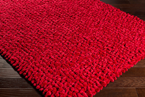 Lechlade Shag Plush Solid 2' x 3' Rectangle Area Rug