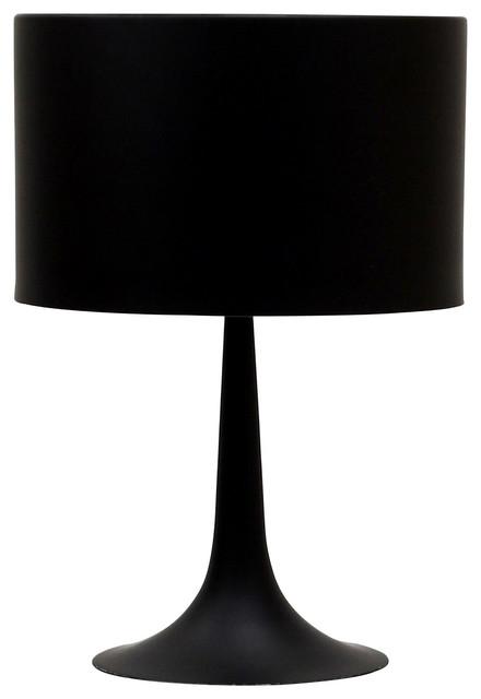 Modern Silk Table Lamp