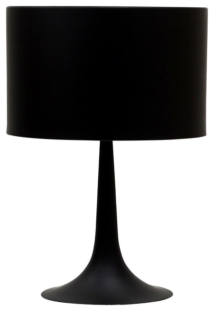 Modern Silk Table Lamp - Midcentury - Table Lamps - by VB Home ...