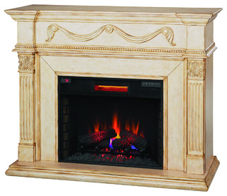 Gossamer Infrared Electric Fireplace Insert 55 Victorian Indoor Fireplaces By Addco