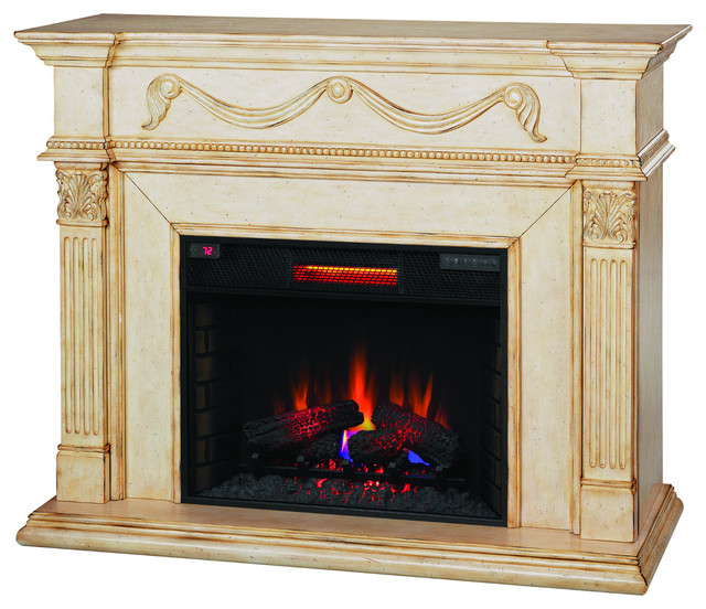 Infrared Electric Fireplace Insert Gossamer 55