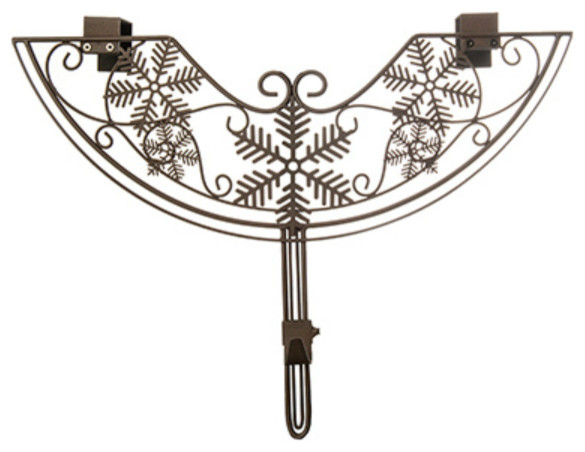 Village Lighting V-10941-Tv Christmas Snowflake Design Adjustable Wreath Hanger.