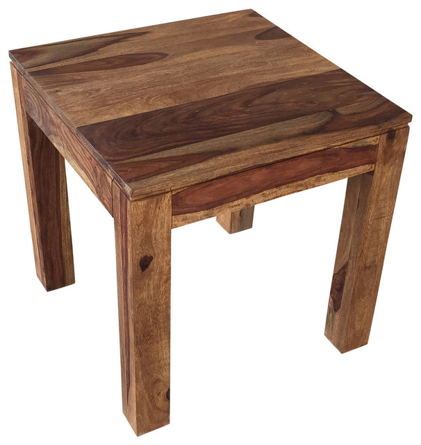 nspire solid sheesham wood accent table reviews houzz