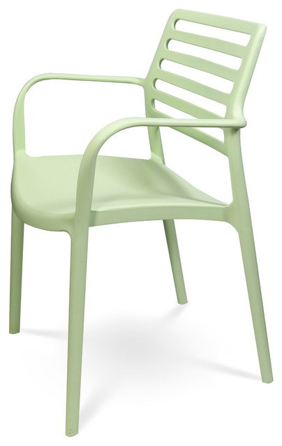 Louise Xl Stackable Indoor Outdoor Dining Armchair Set Of 4 Contemporary Chairs By Clear Chair