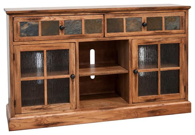 Prescott 2-Door 2-Shelf Tv Console.
