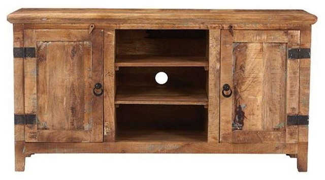 Georget Media Cabinet - Rustic - Entertainment Centers And Tv ...