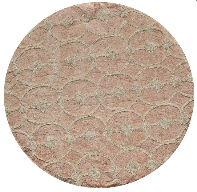 Lil Mo Classic Hand-Hooked Rug, Pink