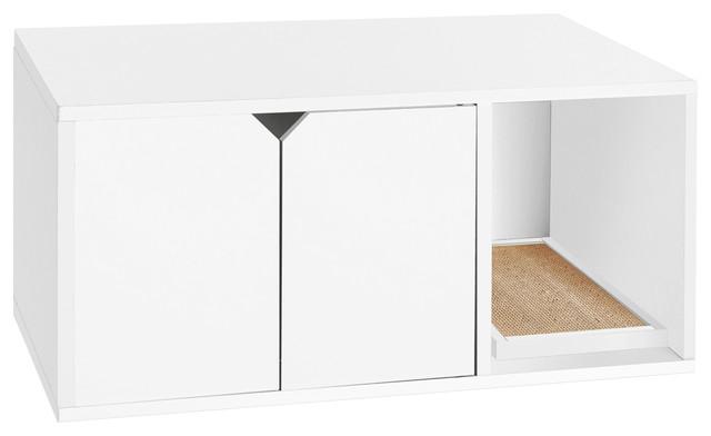 Nermal Eco Friendly Cat Litter Box Contemporary Litter