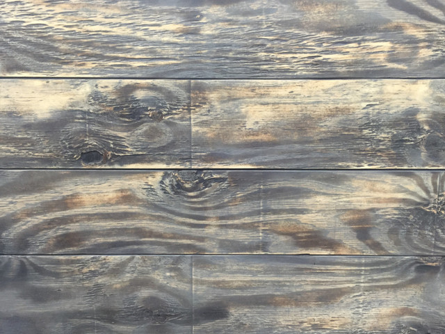 Distressed Wood Slatwall Paneling rustic-wall-panels - Distressed Wood Slatwall Paneling - Rustic - Wall Panels - By Fine