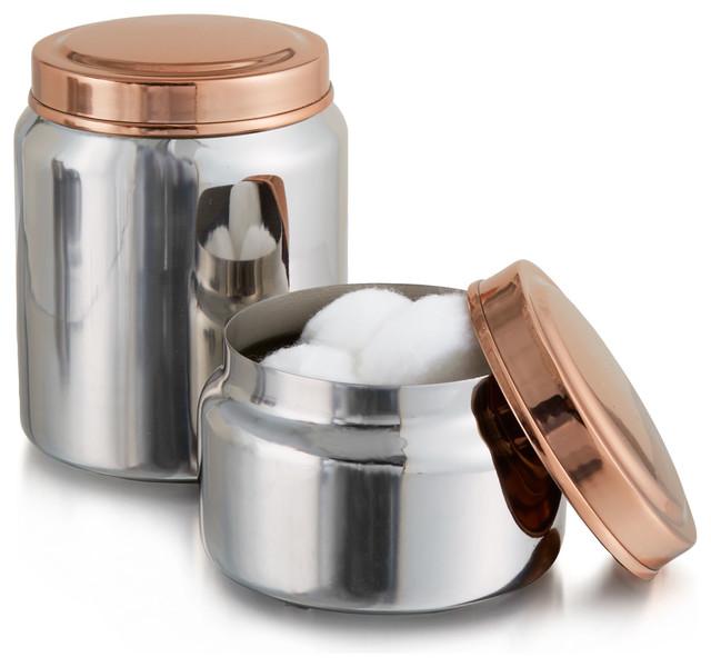 Empire Jars, Set Of 2