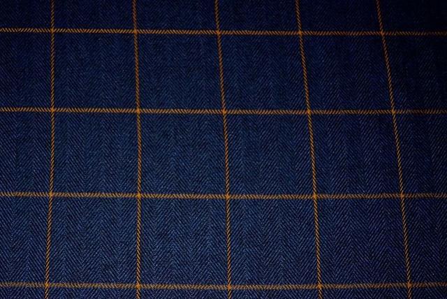 Strut Navy Kaufmann Fabric