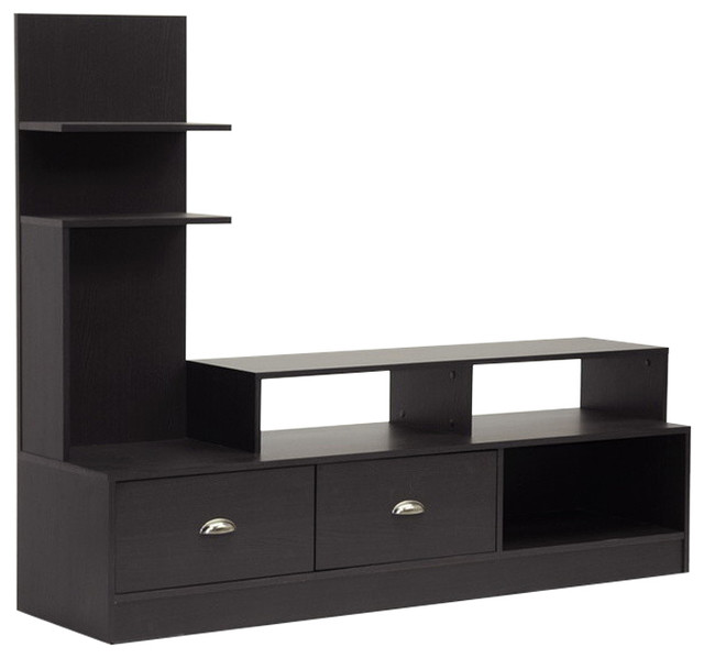 Armstrong Dark Brown Modern Tv Stand