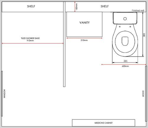 tiny bathroom please help. Black Bedroom Furniture Sets. Home Design Ideas