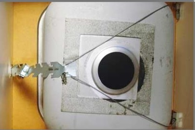 hush works with single sinks too pic from braxtonbragg website - Kitchen Sink Clips